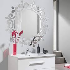 com acrylic mirror wall sticker