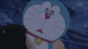 Doraemon crying :(   Doraemon, Anime và Gấu bắc cực