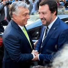 Visegrád Group support Orbán and Salvini