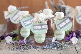 lavender simple syrup wedding favors