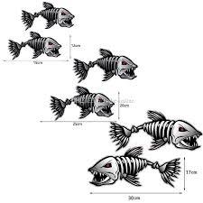 2020 Pair 40 20cm Car Styling Car Sticker Skeleton Fish Bones Vinyl Decal Stickers Kayak Fishing Boat Car Graphics Funny Stickers From Blake Online 2 16 Dhgate Com