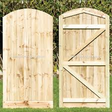 Arch Top Closed Board Gate Buy Online Uk Delivery