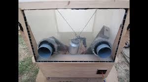 diy sand blasting cabinet home