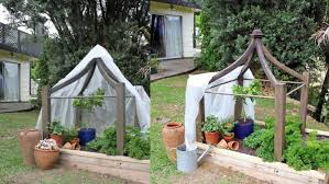 diy project crop cover support frame