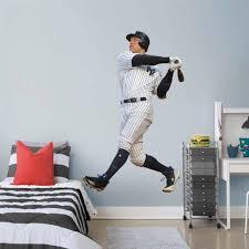 Aaron Judge Fathead Swing Life Size Removable Wall Decal Moiderer S Row Bronx Baseball