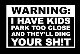 Warning I Have Kids Park Too Close And They Ll Ding Your Etsy