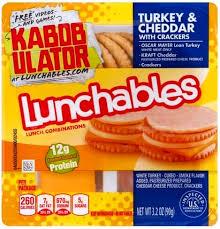 lunchables turkey cheddar with