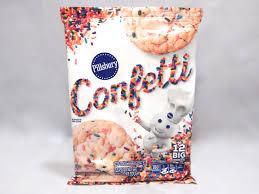 review pillsbury confetti cookies