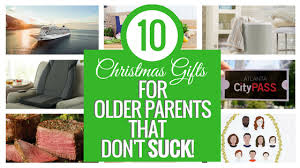 10 gifts for older pas