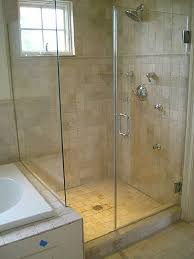to install a frameless glass shower door