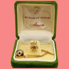 vine solid 14k gold anson lady bug