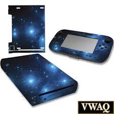 Wii U Galaxy Skin Decal For Nintendo Wii U Console And Etsy
