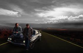 road supernatural winchester brothers