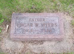 """Edgar William """"Banty"""" Myers (1864-1946) - Find A Grave Memorial"""