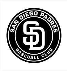 San Diego Padres 2 Decal North 49 Decals