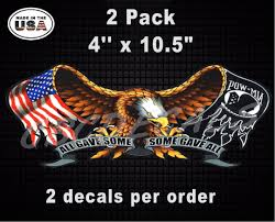 All Gave Some Some Gave All American Flag Harley Davidson Motorcycle Tank Pow Military Vinyl Decal Sticker Country Boy Customs Store
