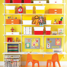White Elfa Kid S Workstation The Container Store