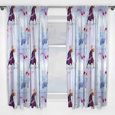 Disney Frozen 2 Element Curtains 72 Drop Readymade Kids Bedroom Ebay