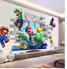 Top 10 Largest Wall Sticker Mario Ideas And Get Free Shipping E28e7fbh