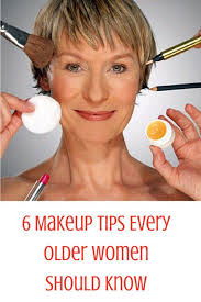 6 makeup tips every older women should