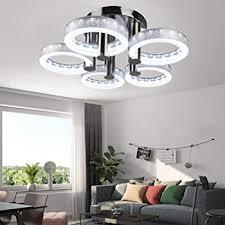 houdes modern led chandelier lighting
