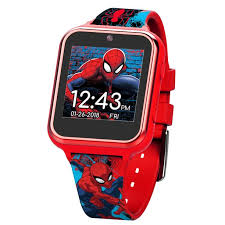 Spiderman Itime Kids Smart Watch 40 Mm Walmart Com Walmart Com