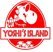 Jurassic Park Yoshi S Island Mash Up Vinyl Decal Logo For Car Home Yeti Laptop And More Various Colors Vinyl Decals Jurassic Park Logo The Good Dinosaur