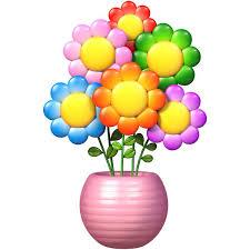Zoomie Kids Trees Flowers Flower Pot Wall Decal Wayfair