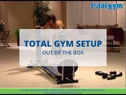 total gym setup you