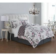 darcy 6 piece blush twin bed in a bag