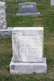 Velma Myrtle Harrison Williams (1898-1930) - Find A Grave Memorial