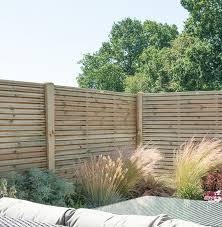 Set Of 3 6ft X 5ft Double Slatted Wooden Fence Panel Pressure Treated I 2020 Gjerde Hekk