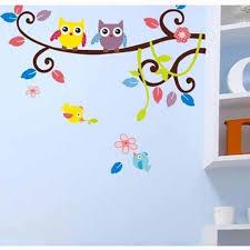 2016 Wall Sticker Poster Mural Lovelyanimal Cartoon Owl Diy Vinyl Wall Stickers For Kids Rooms Wall Stickers For Kids Rooms Kids Room Wall Kids Room Wall Stickers Wall Stickers Home Decor