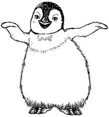 Pinguin Kleurplaten09 Topkleurplaat Nl