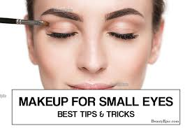 eye makeup tips for small eyes step by