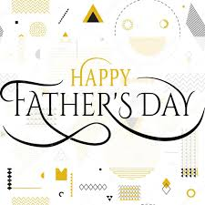 Happy fathers day wishes design vector ...