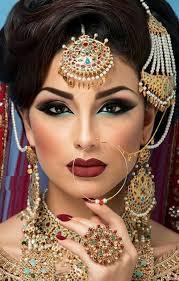 arabic wedding makeup pictures
