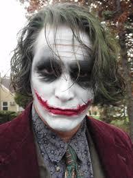 dark knight joker makeup tutorial