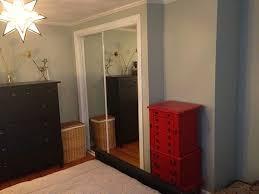 refinishing gold mirrored closet doors