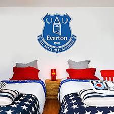 Wall Vinyl Decal Beautiful Game Everton Football Club Official Crest Mural Everton Fc Set Poster Print Mural Vinyl Decor Sticker Home Art Print Wd7340 Wantitall