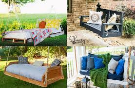 12 diy swing bed ideas to spruce up