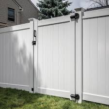 Freedom Bolton 6 Ft H X 5 Ft W White Vinyl Fence Gate In The Vinyl Fence Gates Department At Lowes Com