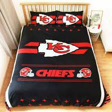 kansas city chiefs applique comforter