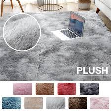 Plush Carpet For Living Room Fluffy Rug Thick Bed Room Carpets Anti Slip Floor Gray Soft Rugs Tie Dyeing Velvet Kids Mat Discount Area Rugs Carpet Online From Gyposphila 24 34 Dhgate Com