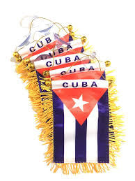 Prk 14 Cuban Flag For Cars Sticker Decal Buy Online In Antigua And Barbuda At Desertcart
