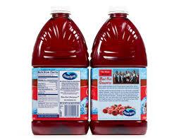 ocean spray cranberry juice l 2