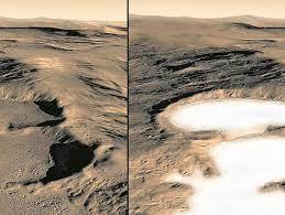 Agua en Marte: el líquido tiende a disminuir | Tendencias | Portafolio