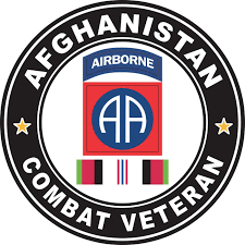 Amazon Com Military Vet Shop Us Army 82nd Airborne Division Afghanistan Combat Veteran Window Bumper Sticker Decal 3 8 Automotive