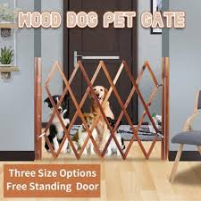 Expanding Portable Wooden Fence Screen Gate Kid Safety Dog Pet Patio Garden Lawn For Home Yard Decor Buy At A Low Prices On Joom E Commerce Platform