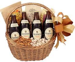 guinness celebration beer gift basket